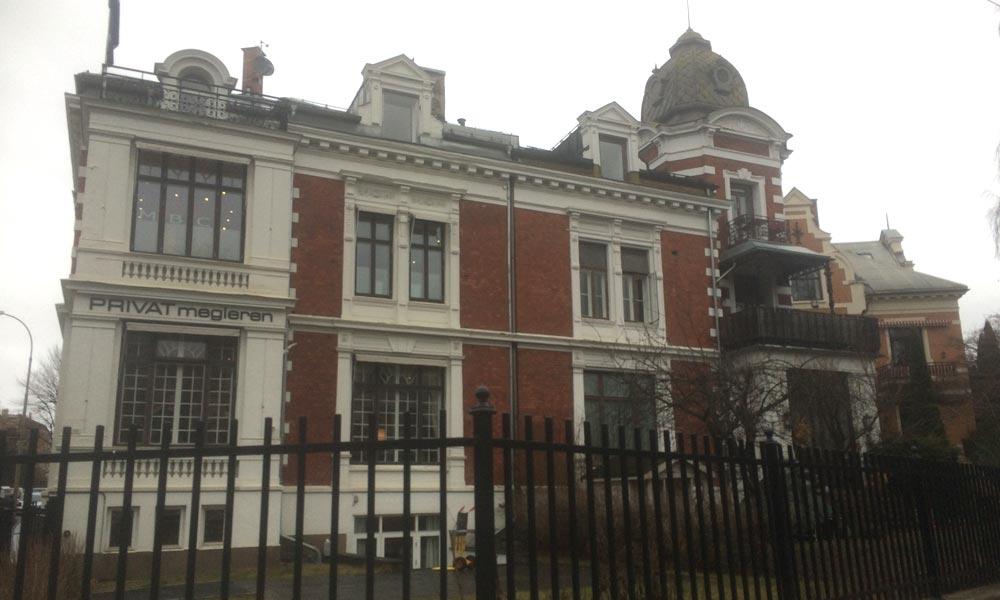 ESV Digital Nordic, som Bente driver i dag, holder til i et flott, gammelt bygg i Oslo. FOTO: INKUBATOREN.NO